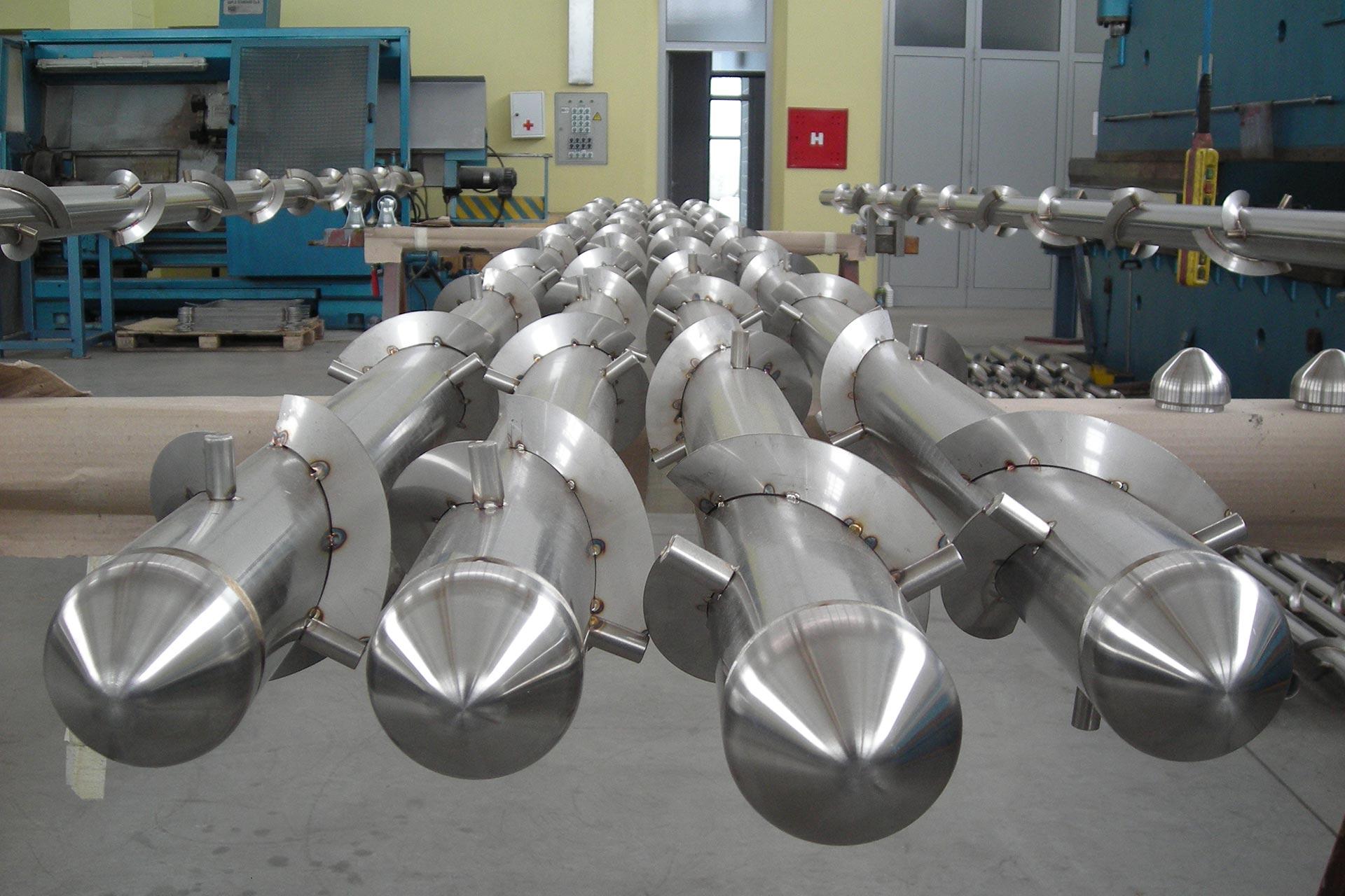 Particolare-scambiatore-tubo-alettato