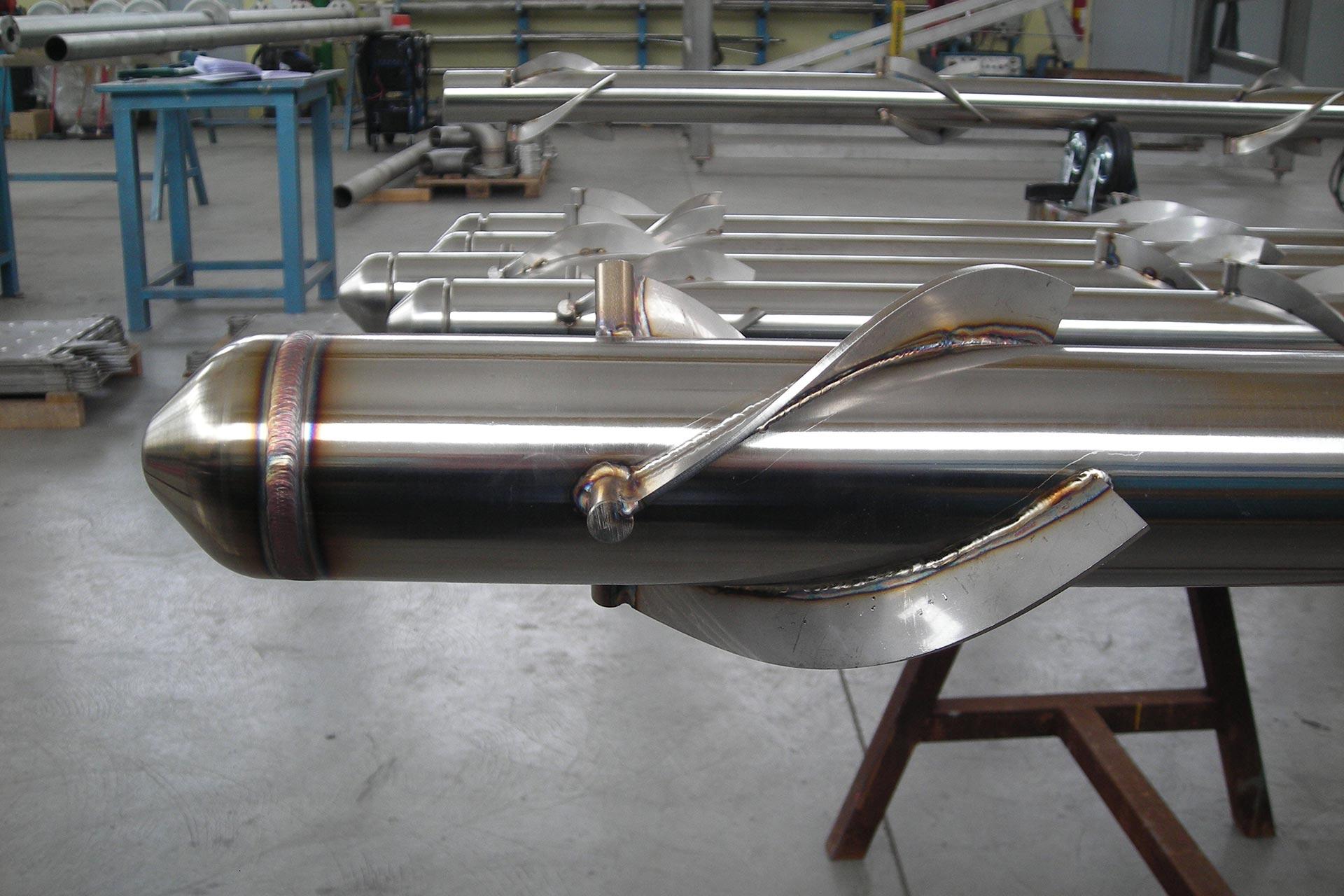 Particolare-tubo-scambiatore-alettato